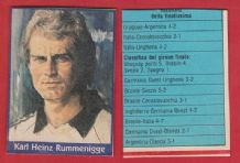 West Germany Karl Heinz Rummenigge Bayern Munich